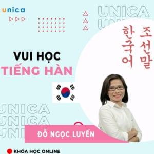 Vui học tiếng Hàn